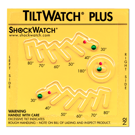 spotsee shockwatch tiltwatch plus monitor kanteling