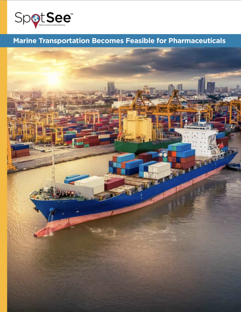 Marine Transportation Becomes Feasible for Pharmaceuticals